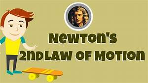 Newton's Second Law of Motion - YouTube
