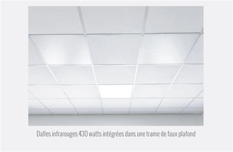 panneaux infrarouges quot dalles de faux plafonds quot redwell