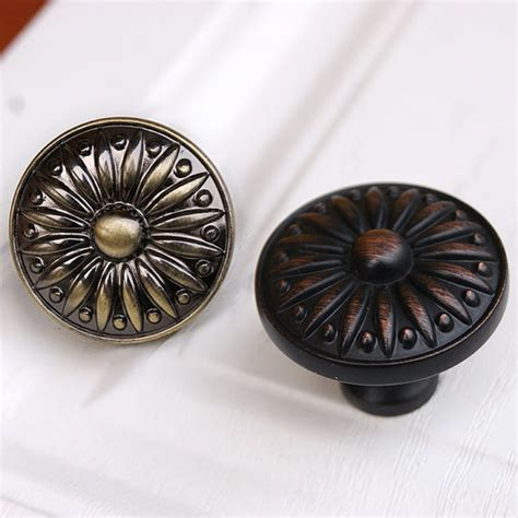 black dresser drawer knobs drawer knobs pulls antique brass black copper small by