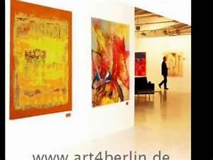 Bilder Günstig Kaufen : bilder kunst modern abstrakt gro formatige leinw nde malerei gem lde g nstig kaufen youtube ~ Markanthonyermac.com Haus und Dekorationen