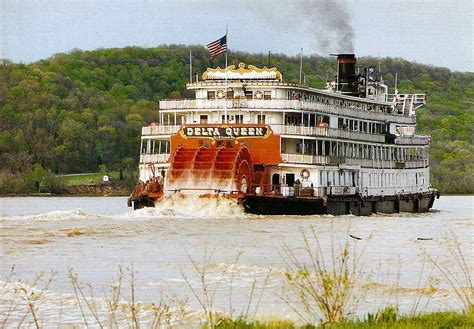 Delta Queen Boat by Delta Queen We Toured This Boat In Marietta Ohio On The