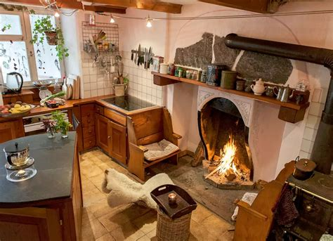 Large Kitchen Fireplace  Fireplace Designs 21 Beautiful