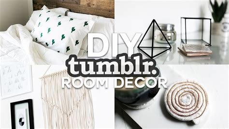 Diy Tumblr Inspired Room Decor  Minimal & Simple (2016