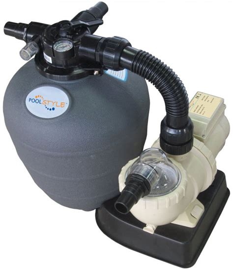 groupe filtration piscine hors sol 6 224 8 m3 h poolstyle