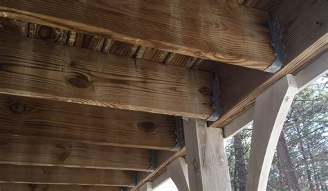 Deck Joist Hangers Or Not by What It Really Takes To Build A Safe Deck In Salt Lake
