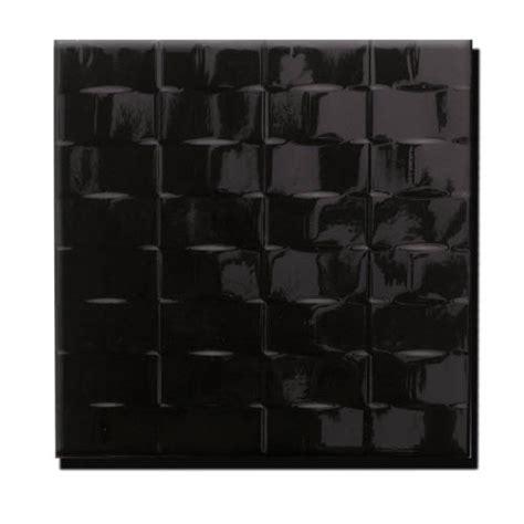 carrelage mural terra noir 20x20cm tous les produits carrelage mural salle de bain et
