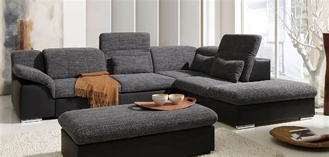 Arizona Ecksofa Eckgarnitur Couch Sofa Lederoptik Eckcouch