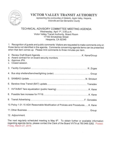 Vvta Technical Advisory Committee Meeting Agenda  April 2015. Patient Service Representative Cover Letter Template. Paralegal Resume Objective Examples. Personal Objectives Examples For Resume Template. Sticker Chore Chart Template. Sample Teacher Cover Letter Template. Dog Training Assessment Form Wsbyq. Craigslist Resume Search. Monthly Calendar Print Out Template