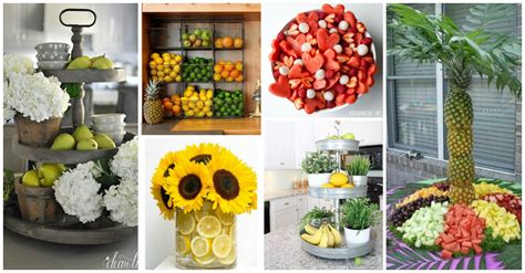 Home Interior Fruit : Fruit Home Decor Ideas That Will Refresh Your Atmosphere