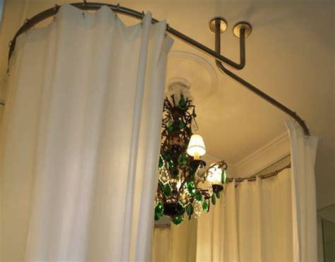 galbotwins support ovale de rideaux de pour baignoire ilot barres de rideau de