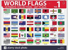World Flags Ultimate Collection 287 flags Volume 1