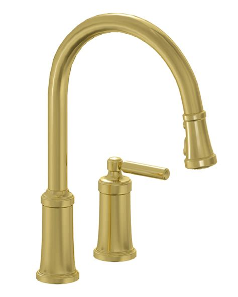 unlacquered brass kitchen faucet goenoeng