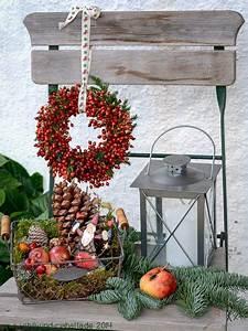 Weihnachtsdeko Ideen 2017 : die besten 17 ideen zu weihnachtsdekoration f r drau en auf pinterest poolnudel kranz ~ Markanthonyermac.com Haus und Dekorationen