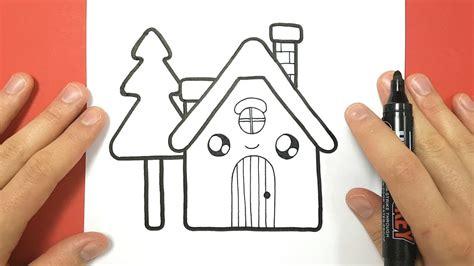 comment dessiner une maison kawaii