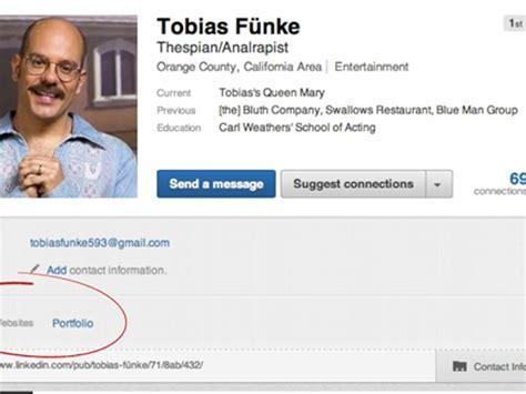 Justin Ratz Fake Arrested Development LinkedIn Profiles