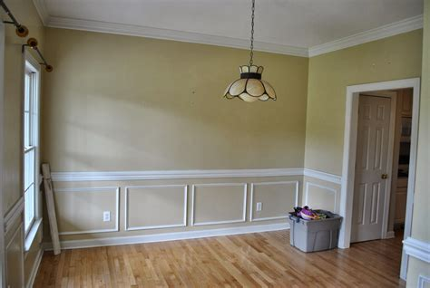 Chair Rail Molding Style And The Act Of Installing It