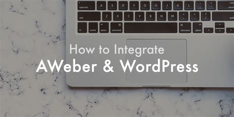 Thrive Templates Integrate With Aweber how to integrate aweber with to grow your