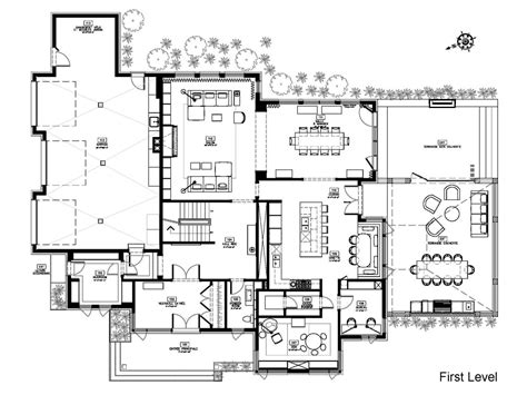 Great Modern House Floor Plans