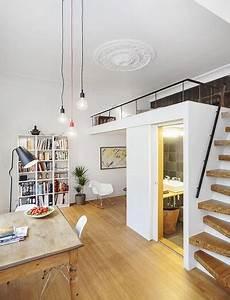 1 Zimmer Wohnung Einrichten Tipps : kleine wohnung einrichten mit hochbett coole ideen zum 1 zimmer wohnung einrichten mit loft bed ~ Markanthonyermac.com Haus und Dekorationen