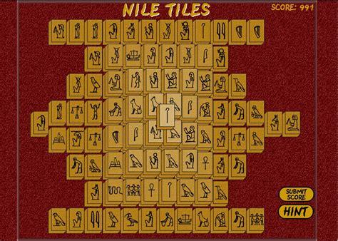nile tiles mahjongg play free mahjong