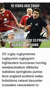 10 YEARS AGO TODAY URICH DAN CARTER SCORED 33 POINTS ...