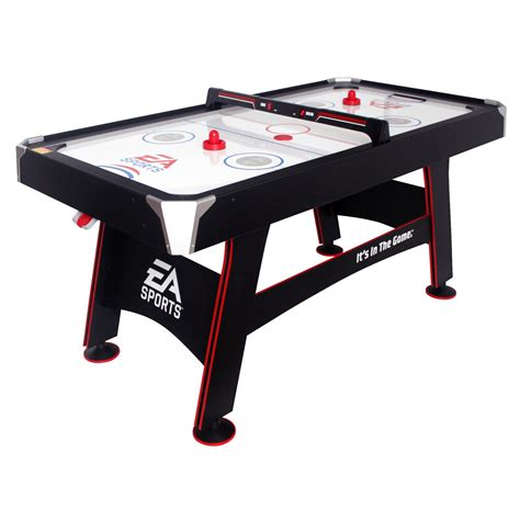 """66"""" Ea Sports Air Powered Hockey. Desk Pedal Machine. Desk For Computer. Small Drawer Organizer. Pool Air Hockey Table. Saarinen Table. Brushed Steel Desk Lamp. Big Lots Coffee Table. Dining Room Computer Desk"""