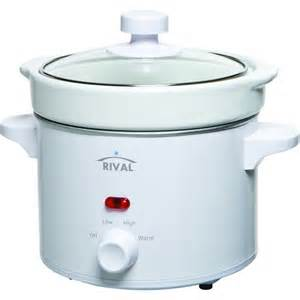 rival 2 qt cooker white cooker with glass lid removable pot cooker dishwasher