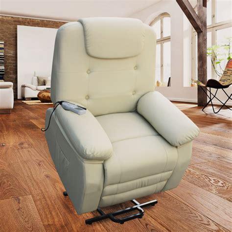 fauteuil releveur relaxant massant shiatsu simili cuir