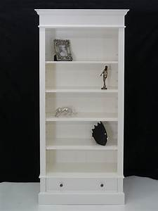 Bücherregal Massivholz Weiß : regal b cherregal b cherschrank massivholz in wei mit 1 schulbade 4888 regale regalsysteme regale ~ Markanthonyermac.com Haus und Dekorationen