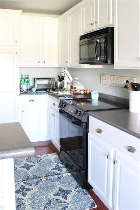 Painted Kitchen Cabinets 2 Years Later  The Turquoise Home