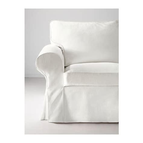 Ektorp Chair Cover Blekinge White by Ektorp Three Seat Sofa Blekinge White Ikea