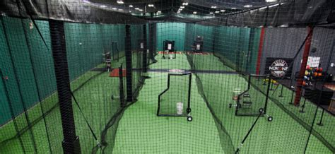 indoor batting cage on deck sports