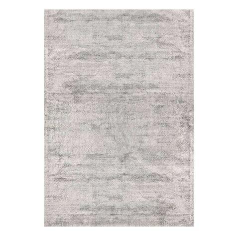 tapis haut de gamme gris clair en viscose douceur par joseph lebon