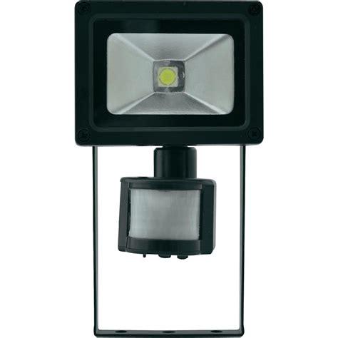 projecteur led ext 233 rieur avec d 233 tecteur de mouvements lumihome dec gl10w s 10 w noir vente