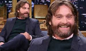 Zach Galifianakis discusses his baby boy on The Tonight ...