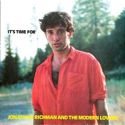 it s time for by jonathan richman and the modern lp with rabbitrecords ref 114890199