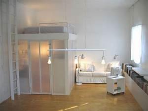 Mini Apartment Einrichten : interesting ideas of loft bed for adults ~ Markanthonyermac.com Haus und Dekorationen