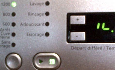 forum tout electromenager fr code panne lave linge beko wmd57140s