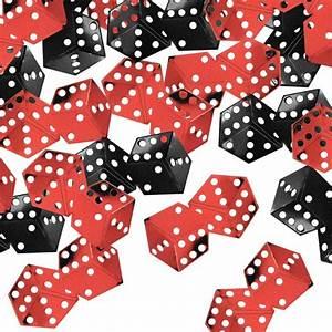 Dice Confetti: Casino Night