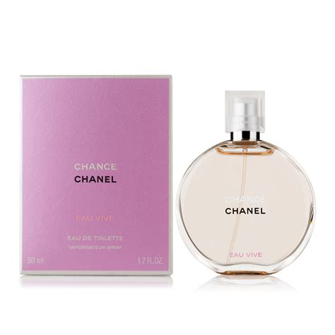 chanel chance eau vive eau de toilette 50ml s of kensington