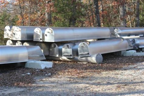 Aluminum Pontoon Tubes For Sale by Pontoon Boat Logs Tubes Floats New And Used 6770692