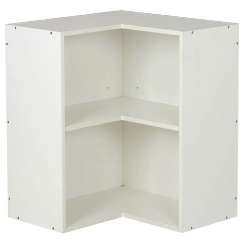 kaboodle 600mm wall corner cabinet bunnings warehouse