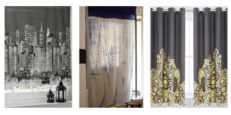 Digitally Printed Curtains Curtain Ideas For Big Windows Automatic Track System Mta Subway Shower Large Kitchen Yellow And Blue French Country Curtains Home Trends Bedding Basildon White Cotton Lace Panels