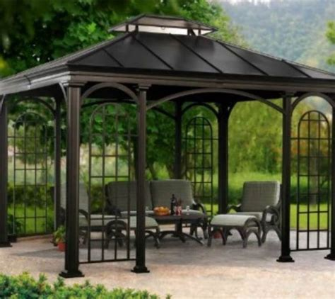 34 best images about pergolas on gardens outdoor living and metal pergola