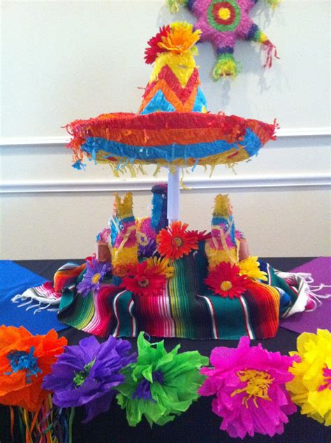 the posh pixie mexican table decorations