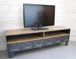 meuble tv retro pas cher valdiz