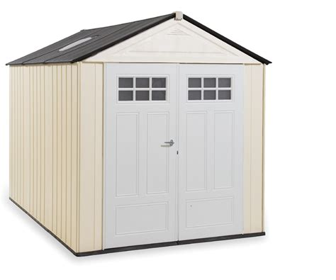 rubbermaid 174 1825260 outdoor resin storage shed 7 x 10 6 quot sears outlet