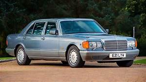 1987 Armored Mercedes 560 SEL w126 - YouTube