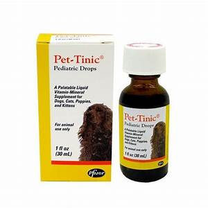 pet tinic 4 oz by pfizer
