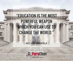 Education Is The Most Powerful Weapon Poster : 127 best images about motivational quotes on pinterest milton berle quotes motivation and blog ~ Markanthonyermac.com Haus und Dekorationen